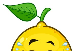 Laughing Yellow Lemon Fruit