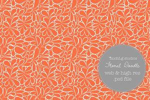 Floral Doodle PSDs