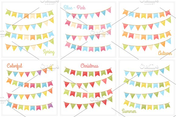 Bunting in Graphics