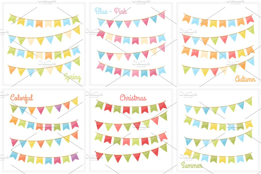 Bunting in Graphics - product preview 8