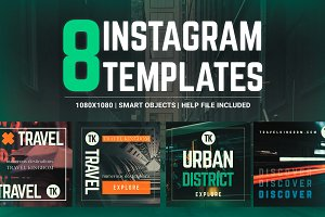 Urban Destinations - Instagram Pack