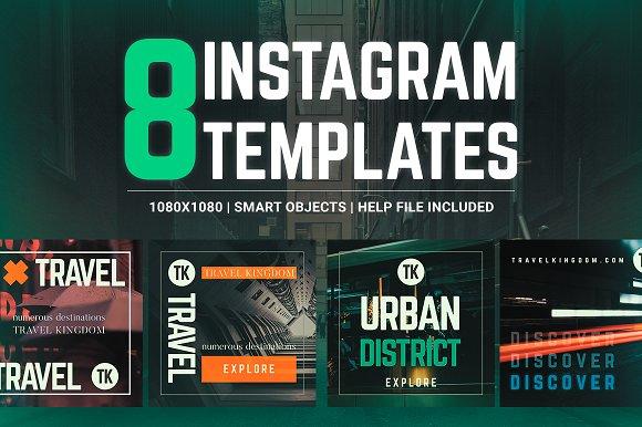 Urban Destinations Instagram Pack