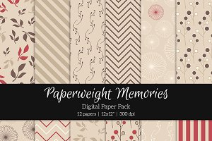 Patterned Paper - Raspberry Kiss