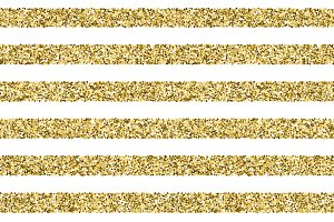 Gift glitter vector striped pattern