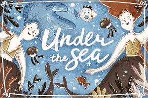 Under The Sea Collection • Mermaids