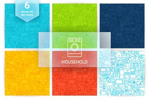 Household Line Tile Patterns