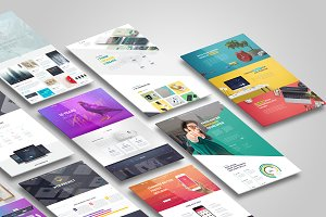 Web,Flyer,Resume or CV Mock up(V1)