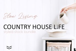 COUNTRY HOUSE BUNDLE.
