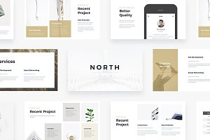 NORTH - Powerpoint Template