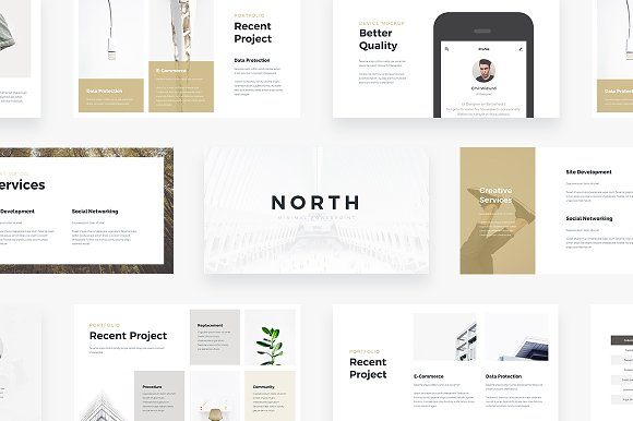 NORTH Powerpoint Template
