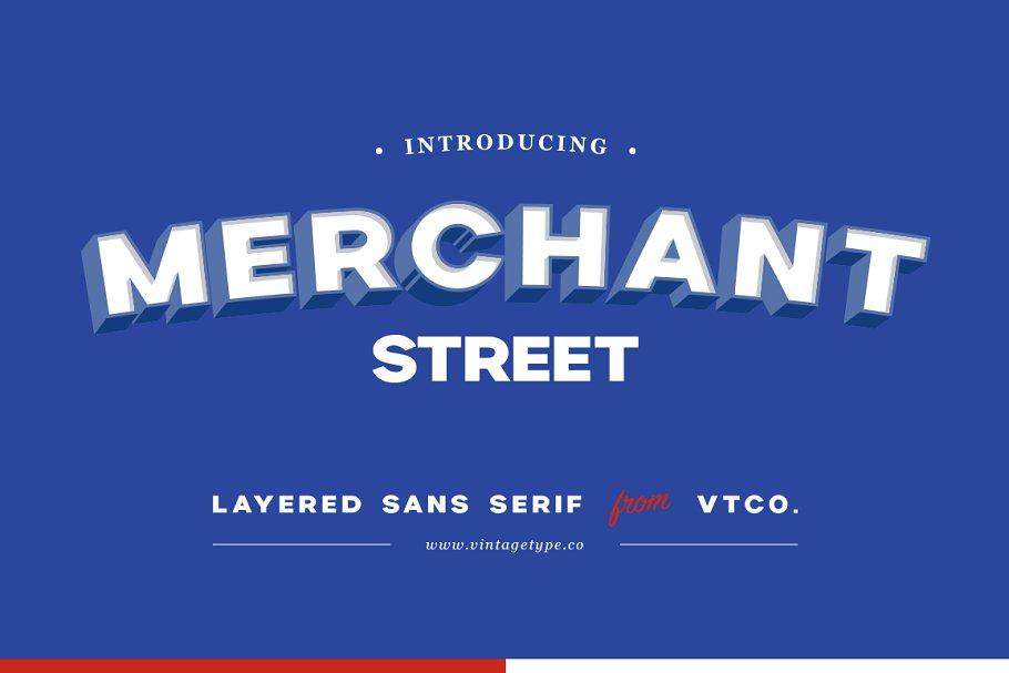 Merchant Street Sans in Sans-Serif Fonts