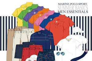 Men Basic Essentials Fashion Set