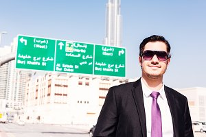 Businessman In Dubai