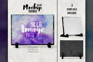 Rectangle slate mockup
