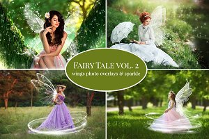 Summer Fairy Tale Photo Overlays 2