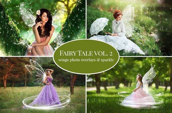 Summer Fairy Tale Photo Overlays 2
