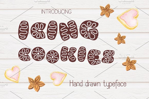Icing Cookies Font