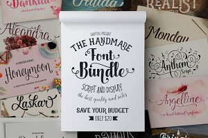Font Bundle (Graptail) - 93%OFF