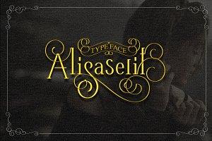 Alisaserif TypeFace