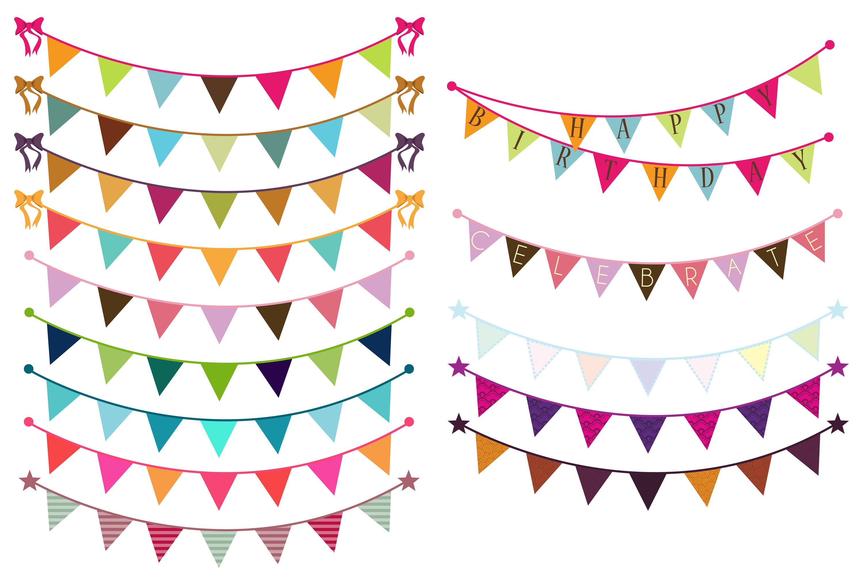 bunting flags photos graphics fonts themes templates creative