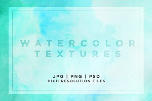 Watercolor Textures Package