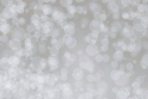 A silver gray tone bokeh background