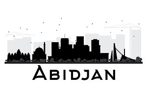 Abidjan City skyline