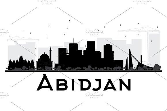 Abidjan City skyline