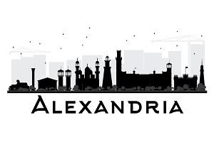 Alexandria City skyline