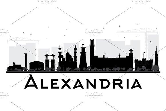 Alexandria City skyline