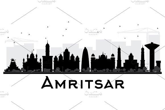 Amritsar City skyline