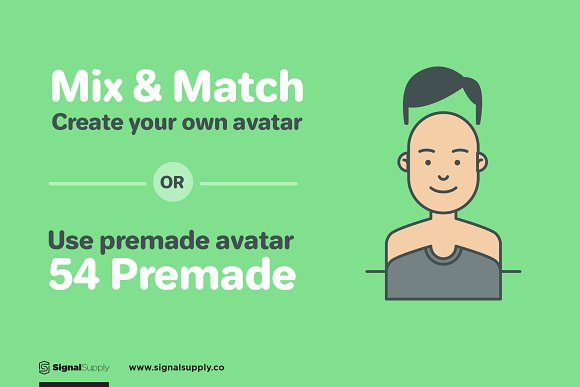 ImaginaryFriends Avatar Generator in Illustrations - product preview 4