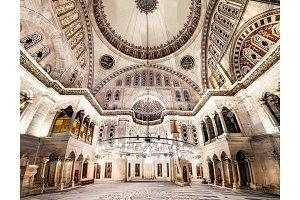 Blue Mosque interior