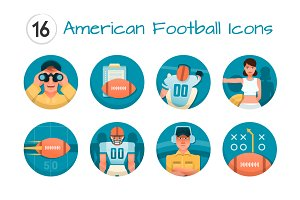 American Football Icons