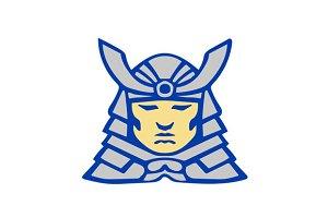 Bushido Samurai Head Armor Helmet