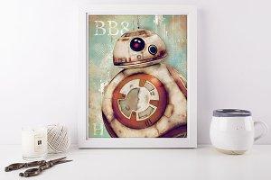 BB8 Droids Portrait Star Wars