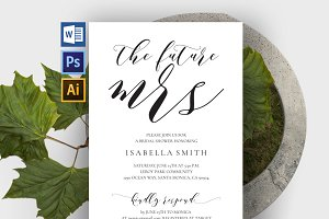 Bridal Shower Invitation Wpc308