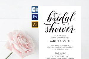 Bridal Shower Invitation Wpc309
