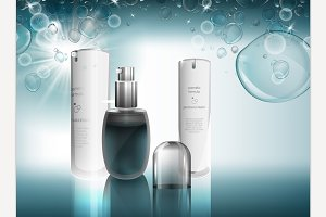 Cosmetic advertising image