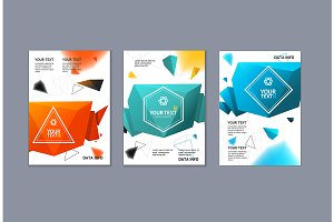 Placard or Flyer Template Set