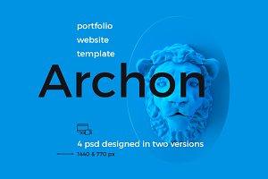 Archon PSD portfolio theme