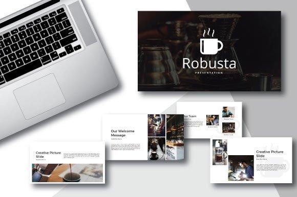 Robusta Powerpoint -Graphicriver中文最全的素材分享平台