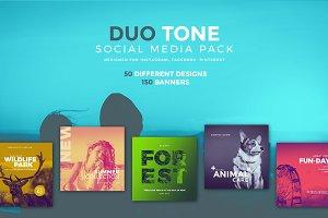 Duo Tone - Social Media Pack