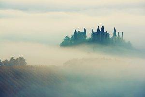 Sunrise in Italy