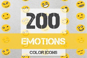 Emotions color lines