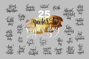 25 VEGAN QUOTES