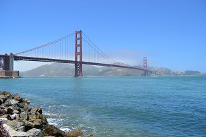Golden Gate Bridge in San Fransisco