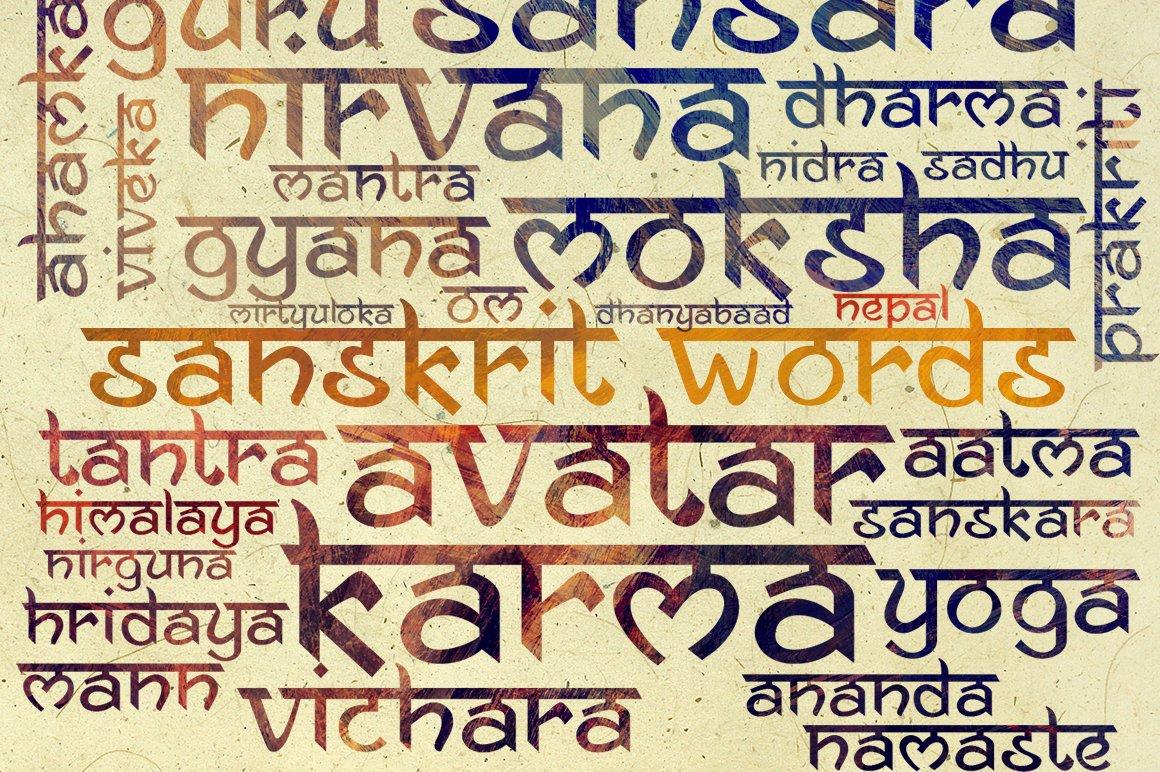Ananda Namaste ~ Display Fonts ~ Creative Market