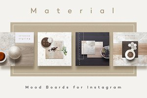 Material Mood Boards
