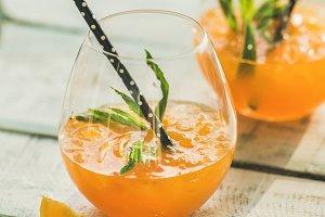 Refreshing summer citrus cocktail